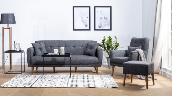Fi Cappy Sofa Set Anthracite
