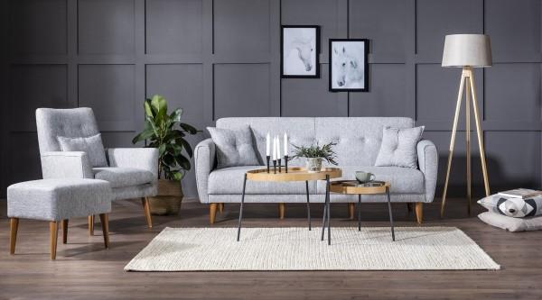 Fi Cappy Sofa Set Grey