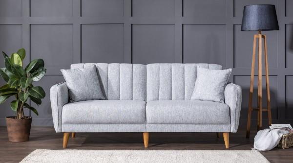 Fi Line Triple Sofa Grey