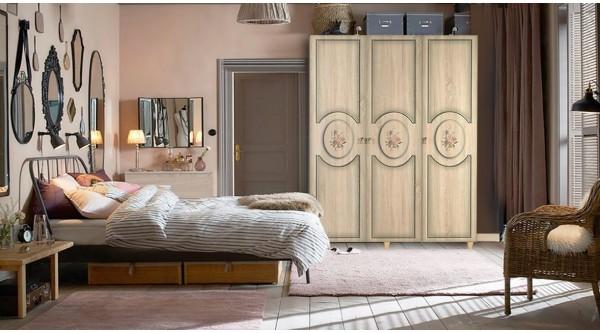Three Door Wardrobe-421