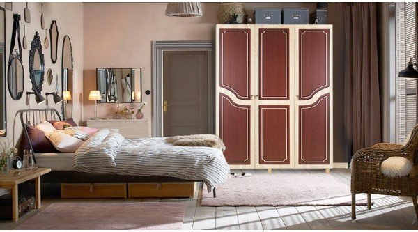 Three Door Wardrobe-621