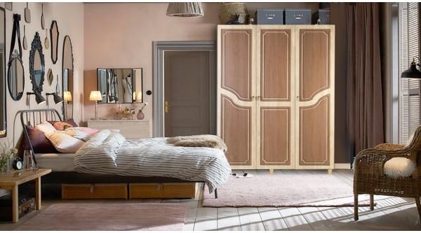 Three Door Wardrobe-622