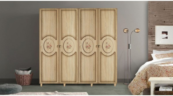 Four Door Wardrobe-420