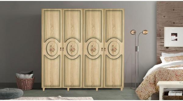 Four Door Wardrobe-421