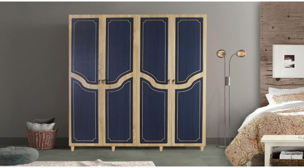 Four Door Wardrobe-620