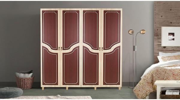 Four Door Wardrobe-621