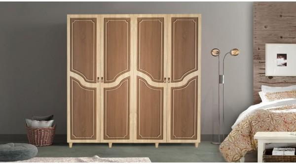 Four Door Wardrobe-622