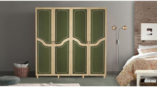 Four Door Wardrobe-623