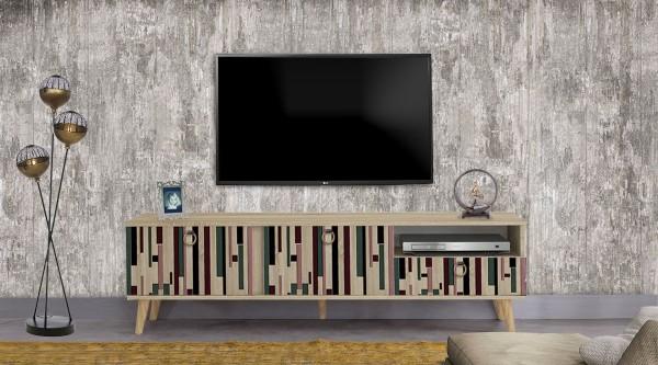 Stella Tv Sehpası Mix Çubuk